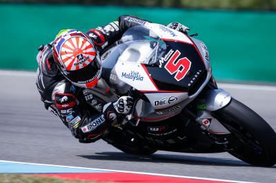 Zarco saldrá desde la pole de Moto2™ en Brno