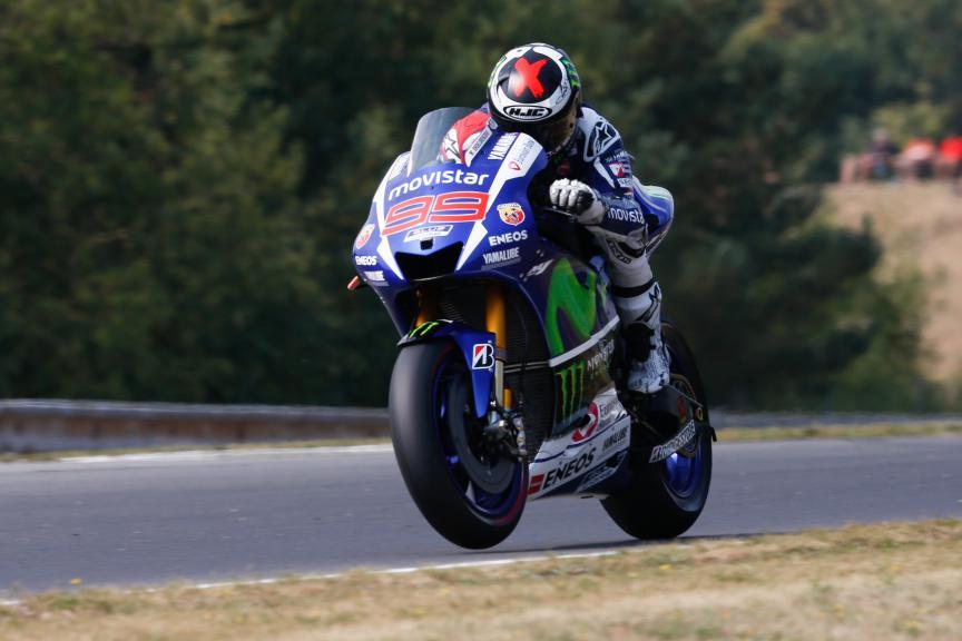 Jorge Lorenzo, Movistar Yamaha MotoGP, Brno Q2