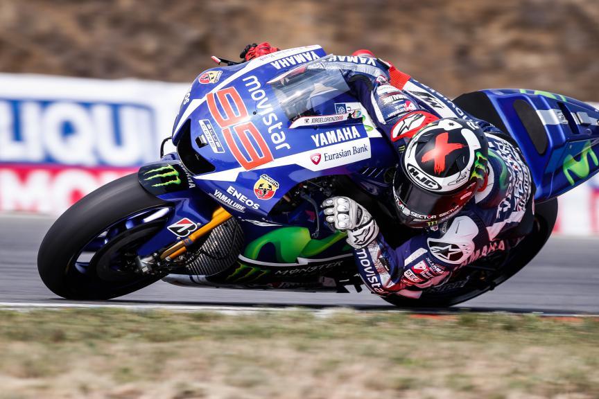 Jorge Lorenzo, Movistar Yamaha MotoGP, Brno FP4