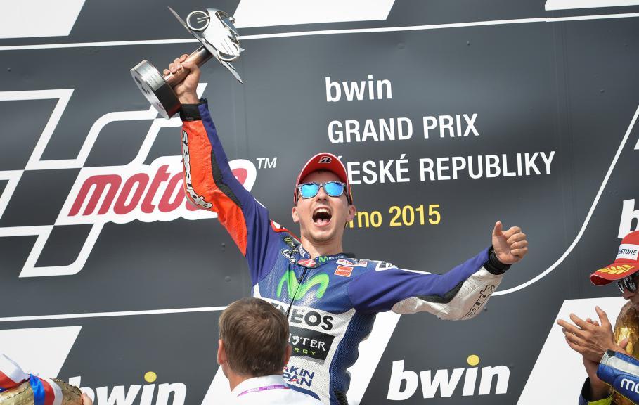 Jorge Lorenzo, Movistar Yamaha MotoGP, Brno RACE