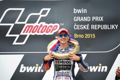 Lorenzo, nuevo líder del Campeonato del Mundo de MotoGP™