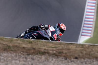 Zarco marca ritmo no warm up matinal da Moto2™
