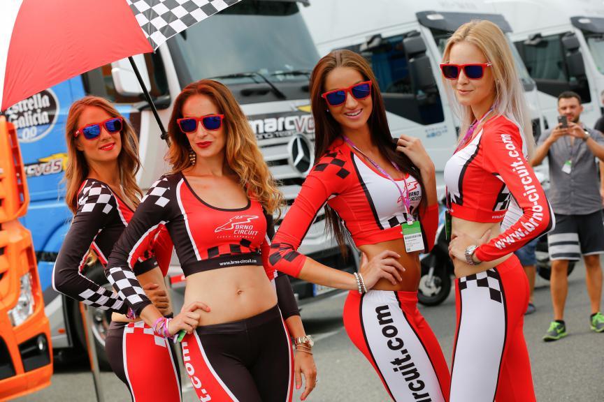 Paddock Gilrs bwin Grand Prix České republiky