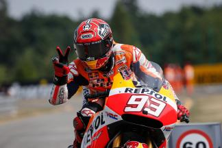"Marquez: ""That's where the difference was…"""