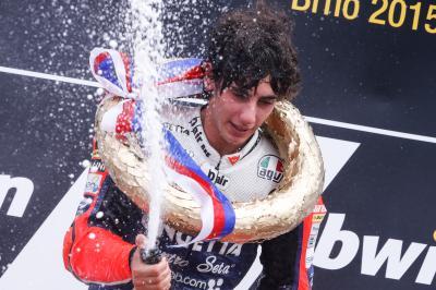 Antonelli: 'La prima vittoria è un'emozione grandissima'