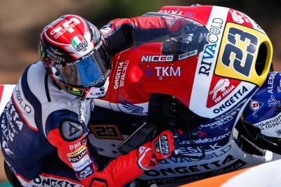 Antonelli claims maiden Moto3™ victory