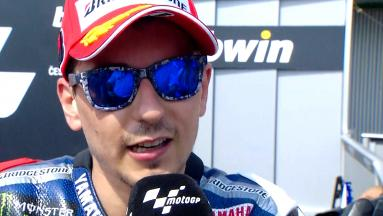 Lorenzo: 'It's harder for Marc to recover'