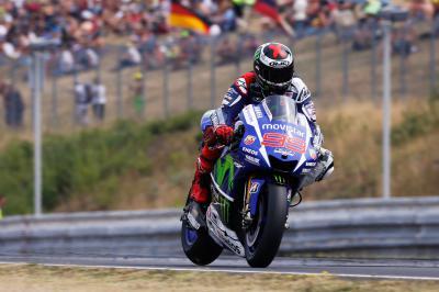 Lorenzo sets hottest lap in MotoGP™ warm up