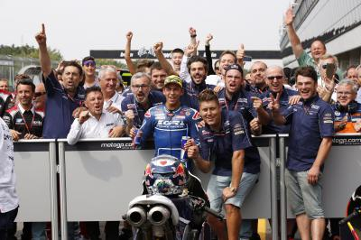 "Bastianini: ""We made radical changes to the bike"""
