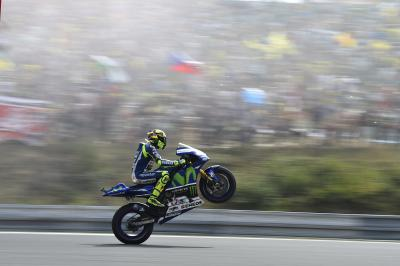 "Rossi: ""I simply didn't have a good enough rhythm"""