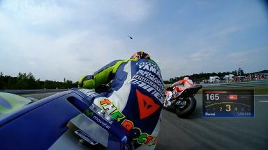 OnBoard: La partenza di Rossi