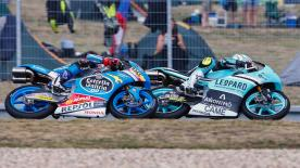 Some of the best Moto2 & Moto3 overtaking moves from the weekend at the bwin Grand Prix České republiky.  Philipp Oettl (Moto3) - 98 points Romano Fenati (Moto3) - 82 points 3. Livio Loi (Moto3) - 76 points 4. Andrea Migno (Moto3) - 76 points 5. Matteo Ferrari (Moto3) - 69 points