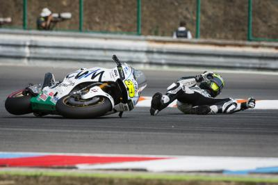 "Crutchlow: ""I made a mistake in the race and crashed"""