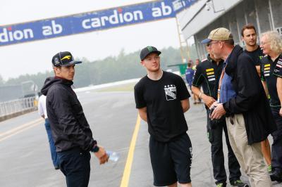 I piloti della MotoGP™ testano le Michelin a Brno