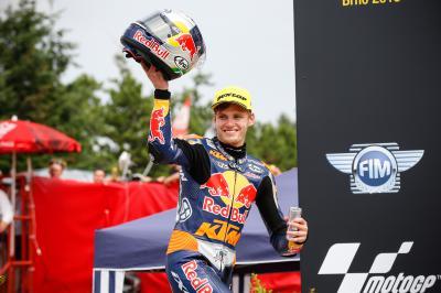 Binder: «Este es mi verdadero primer podio del año»