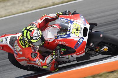 "Iannone: ""I was losing a lot on the straights"""