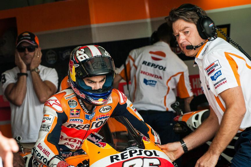 Dani Pedrosa, Marc Marquez, Repsol Honda Team, Brno WUP © 2015 Scott Jones, PHOTO.GP