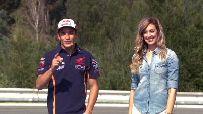 After The Flag - Marquez talks Rossi