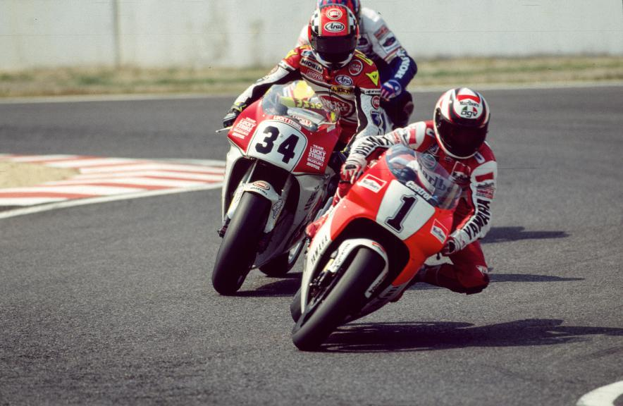 Wayne Rainey, Kevin Schwantz 1993