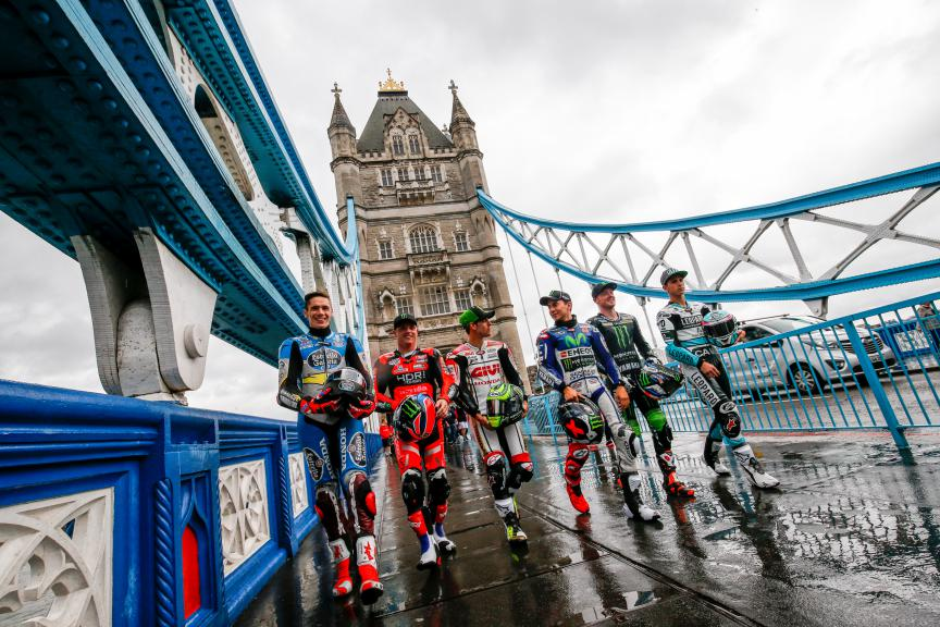 Octo British Grand Prix, London's Tower Bridge