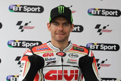 Crutchlow renews deal with LCR Honda Team