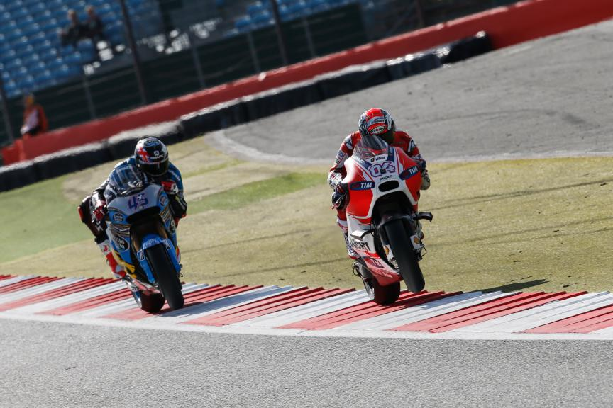 Andrea Dovizioso, Scott Redding, Ducati Team, British GP