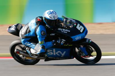 Fenati fastest on Friday in Moto3™