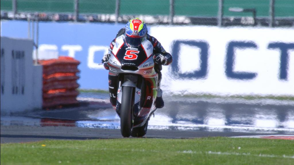 Johann Zarco, Ajo Motorsport, British GP FP1