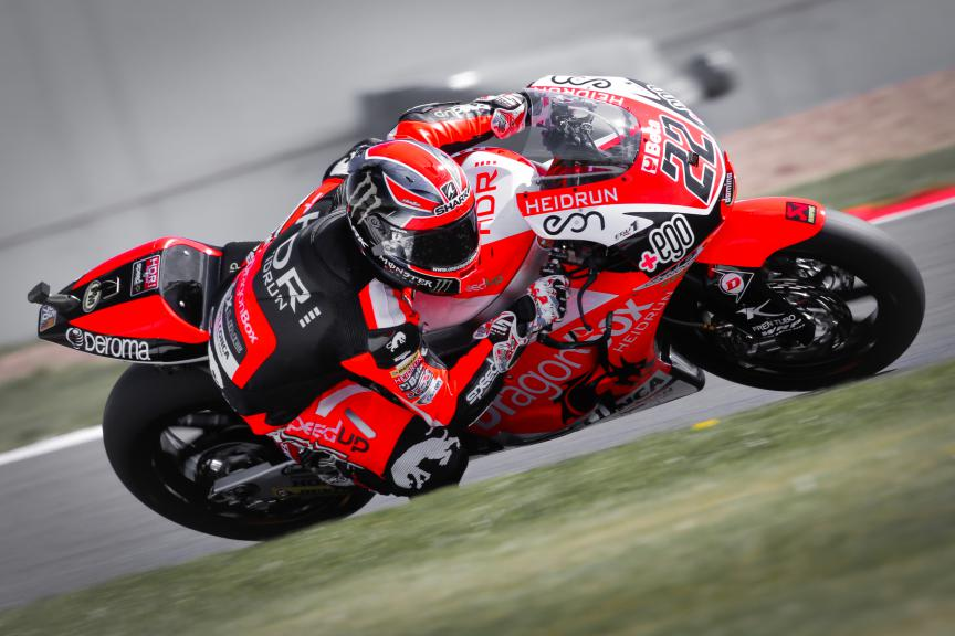 Sam Lowes, Speed Up Racing, British GP FP2