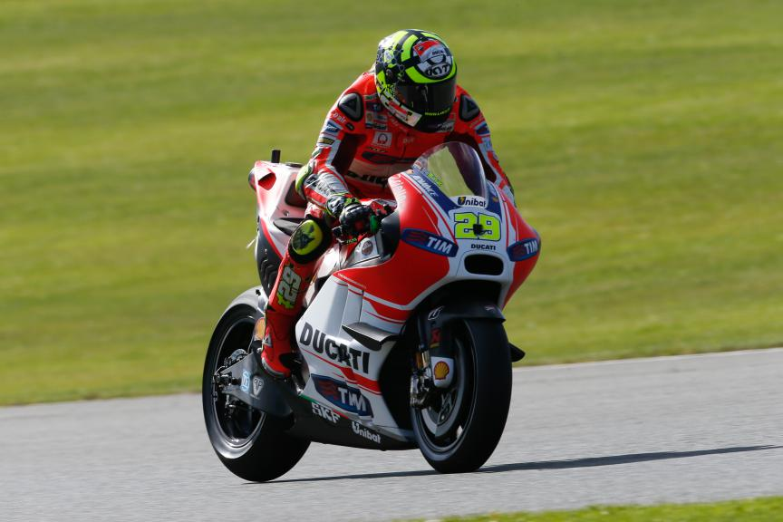 Andrea Iannone, Ducati Team. British GP