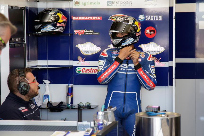 Enea Bastianini, Gresini Racing Team Moto3, British GP