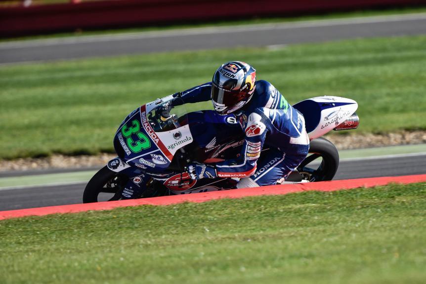 Enea Bastianini, Gresini Racing Team Moto3, British GP