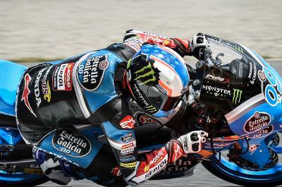 Navarro, el más rápido de la FP1 de Moto3™ en Silverstone