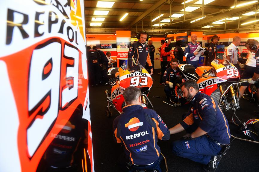 Marc Marquez, Repsol Honda Team, British GP FP2