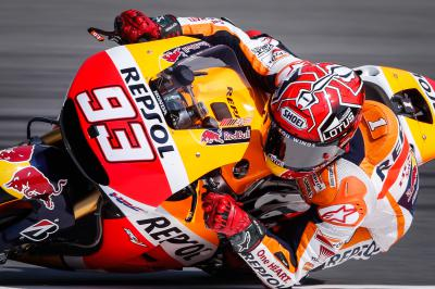 Marquez strikes first in FP1