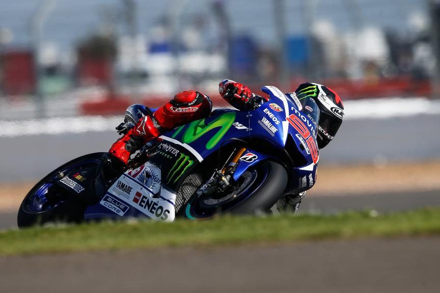 Jorge Lorenzo, Movistar Yamaha MotoGP, British GP