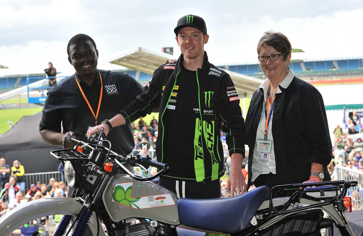 MotoGP™ stars raise over £200,000 for Riders for Health