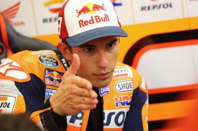 "Marquez: ""I felt very comfortable"""