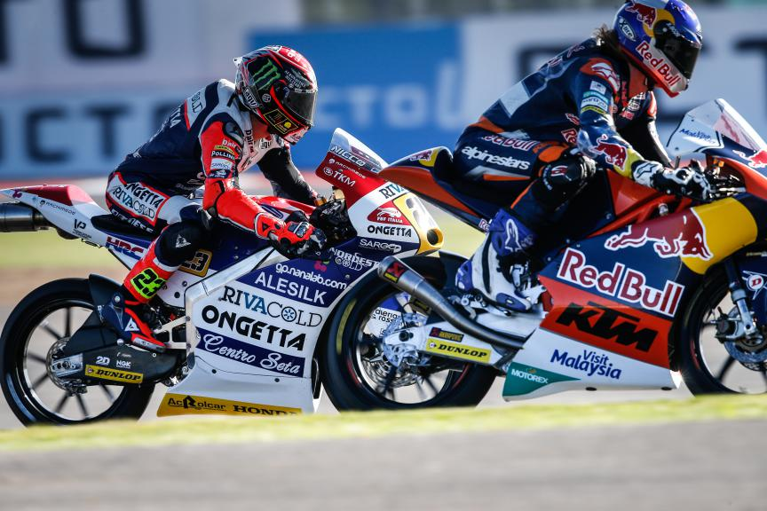 Moto3 Action, British GP