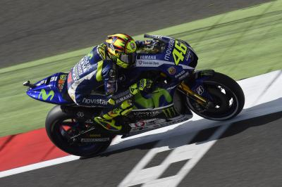 "Rossi: ""I didn't feel very well on the bike"""