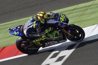 Rossi: «No me he sentido bien encima de la moto»