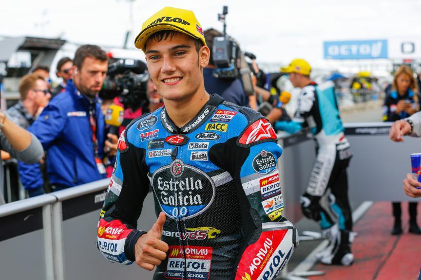 Jorge Navarro, Estrella Galicia 0,0, British GP QP
