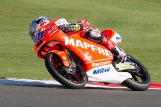 Martín, primero en la FP3 de Moto3™ sobre la Mahindra