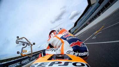 Revive la pole position con Márquez