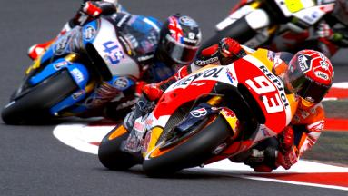 Marquez sichert sich die Pole in Silverstone