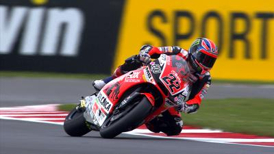 Free Video: Lowes in pole nel GP di casa