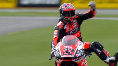 Lowes in pole nel Gran Premio di casa