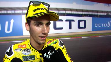 Rins: 'The pole position doesn't matter'