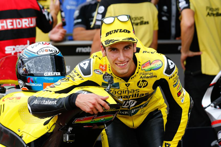Alex Rins, Paginas Amarillas HP, British GP QP