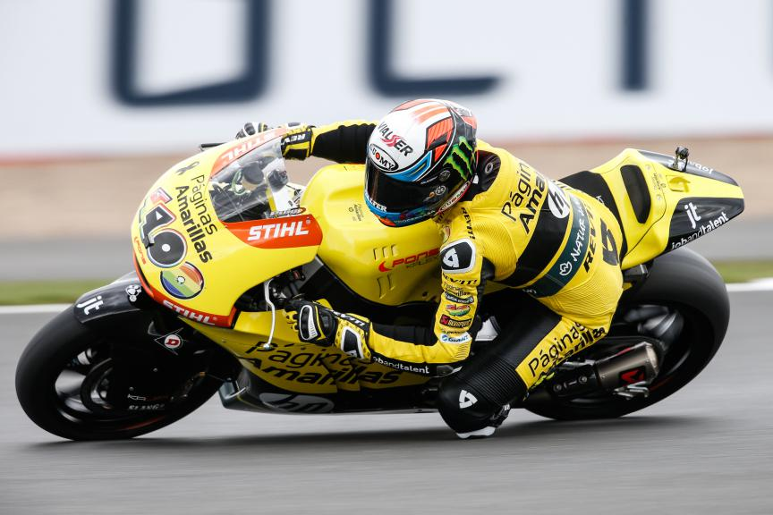 Alex Rins, Paginas Amarillas Hp 40, British GP FP3